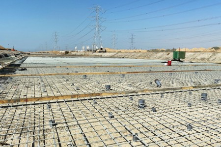 World's largest GFRP rebar project completed